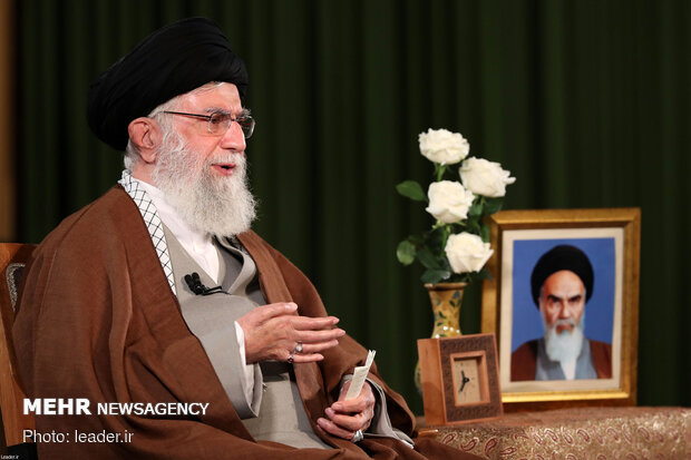 Ayatollah Khamenei's speech on occasion of New Year, Eid al-Mab'ath