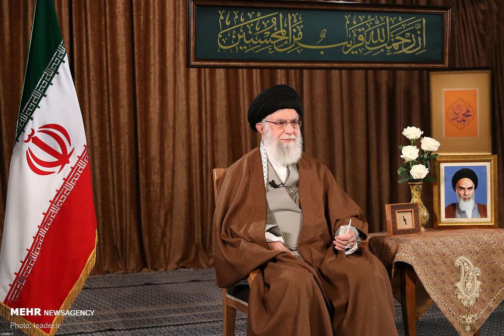 سخنان رهبر معظم انقلاب اسلامی به مناسبت عید مبعث و سال نو