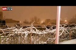 یاسوج میں برف باری سے علاقہ سفید ہوگیا