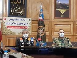 نشست خبری قرارگاه پدافند زیستی ارتش  برگزار شد