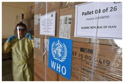 WHO delivers its 7th medical consignment to Iran to combat COVID-19
