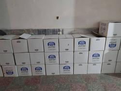 1000 بسته بهداشتی در مناطق کمتر برخوردار بجنورد توزیع میشود