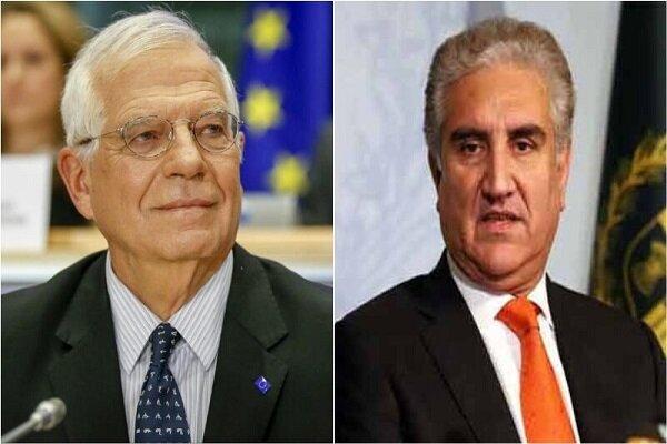 Pakistan FM pens letter to EU's Borrell to lift Iran sanctions amid coronavirus outbreak