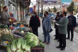 جمع آوری دست فروشان و سد معابر در شهر بومهن