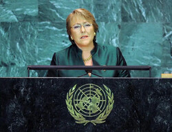 The United Nations High Commissioner for Human Rights chief Michelle Bachelet