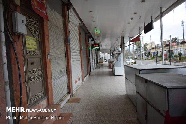 کرونا بازار دشتی را تعطیل کرد/صنوف خواستار حمایت دولت هستند