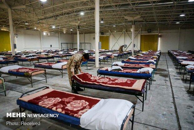 برپایی مجتمع بیمارستانی و نقاهتگاه ۲۰۰۰ تختخوابی نزاجا در نمایشگاه بینالمللی تهران