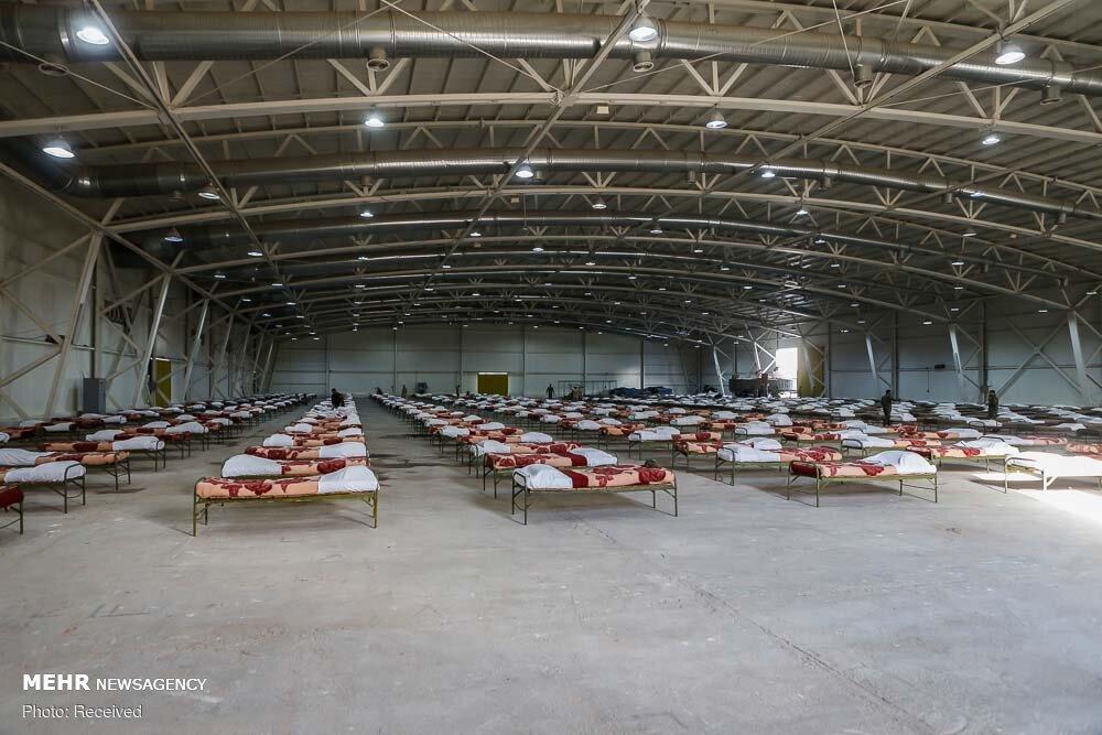 برپایی مجتمع بیمارستانی و نقاهتگاه ۲۰۰۰ تختخوابی نزاجا