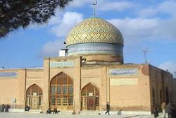 تعطیلی آئین چراغ برات در بقعه متبرکه امامزاده محمد عابد(ع) کاخک