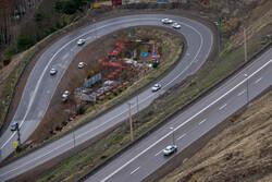 آرامش جاده چالوس پیش از اعمال محدودیت خروج از شهرها