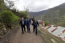 روستای درمعرض خطر سقوط سنگ پیت سرا جابجا می شود