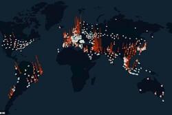 تأثیر کرونا بر مصرف اینترنت دنیا/ ایران در صدر کشورهای پر مصرف