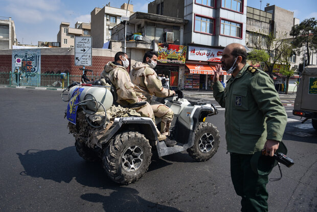 Tehran hosts IRGC's Ground Forces Biological Defense Drill
