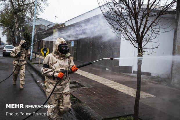 Nationwide Biological Defense Drill in Rasht