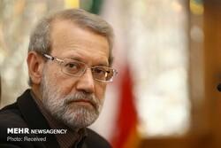 Parl. speaker visits IRGC Biological Defense Exhibition