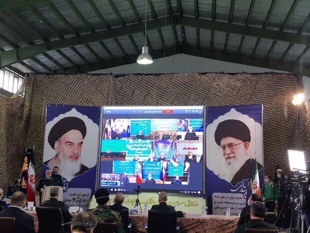 ارتباط ویدئو کنفرانسی رئیسمجلس با ۱۰ قرارگاه نیروی زمینی سپاه