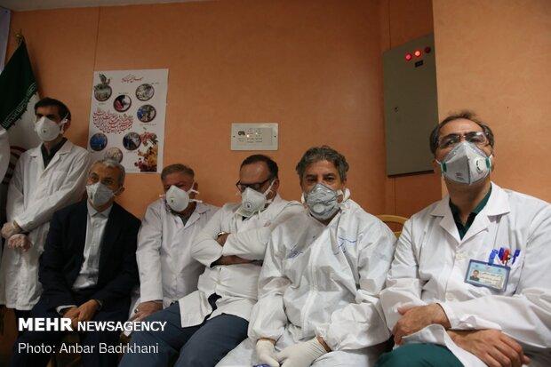 اهدای پلاسما به مبتلایان کرونا در بیمارستان مسیح دانشوری