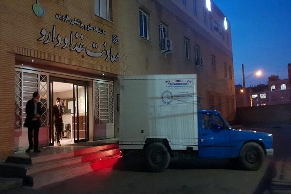 اولین محموله ماسک وارداتی در قزوین تحویل شد
