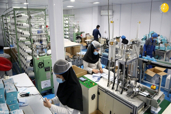 Face mask production line inaugurated in Tehran