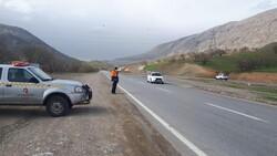 تردد وسایل نقلیه در محورهای استان مرکزی ۶۱ درصد کاهش داشت