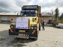 کمک های غیرنقدی خیّر گلستانی به مناطق سیل زده کرمان ارسال شد