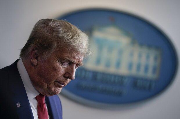 هشدار ترامپ نسبت به ابتلای ۲ میلیون آمریکایی به کرونا