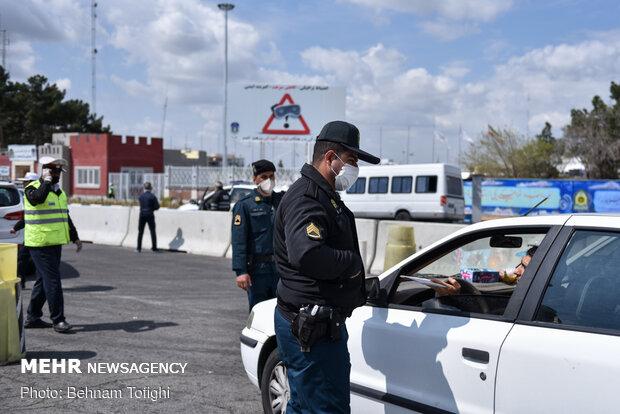 Travel restrictions in Tehran due to coronavirus
