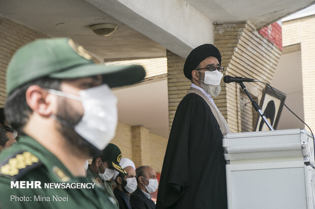 Tabriz hosts IRGC's Ground Forces Biological Defense Drill
