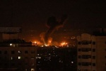 ارتش رژیم صهیونیستی شمال نوارغزه را هدف حمله قرار داد