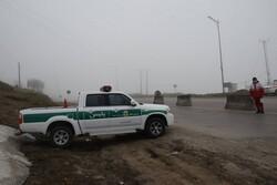 ممنوعیت تردد خودروهای غیر بومی در گردنه حیران