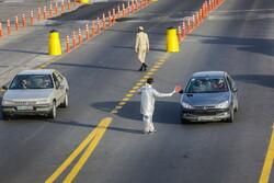 قم – تہران شاہراہ پر ٹریفک کے لئے محدودیت کا نفاذ
