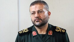 The commander of the Basij Organization (Volunteer Forces) Brigadier General Gholamreza Soleimani