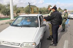 اجرای طرح محدودیت تردد در ورودی سمنان