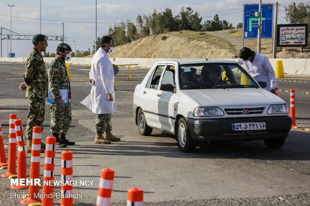 ممنوعیت تردد خودرو در ورودیهای شهر قم اعمال شده است