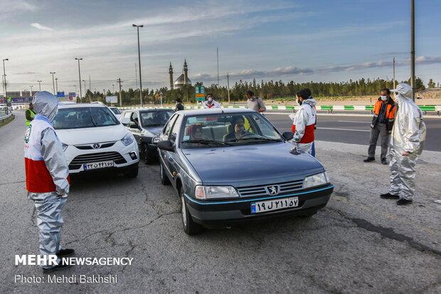 İran'da korona tedbirleri kapsamında 5 büyük kente giriş-çıkış yasağı