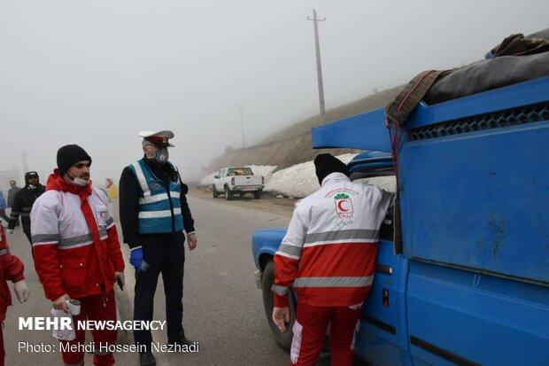 ممانعت پلیس از ورود خودروهای با پلاکهای غیربومی به استان گیلان