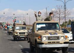 IRGC's Ground Force staging bio-defense drill in Semnan