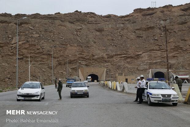 تردد در جادههای آذربایجانشرقی ۱۹ درصد کاهش یافت