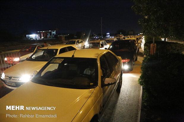 Controlling commutes in Bandar Abbas