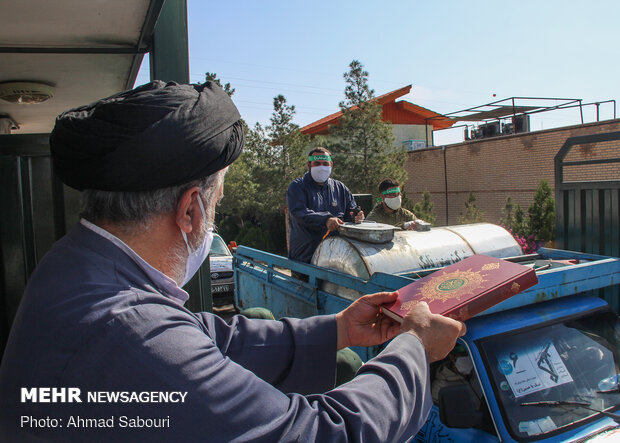 IRGC's Ground Forces Biological Defense Drill in Semnan