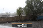 فیلمی از بارش شدید باران و طغیان رودخانه در هرمزگان