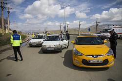 اجرای طرح محدودیت تردد در ورودی سنندج