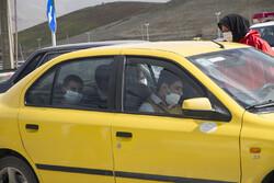 سنندج میں ٹریفک کی محدودیت کا پلان نافذ