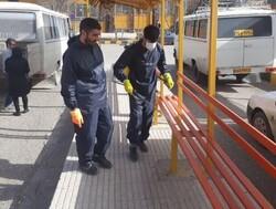 فعالیت بیش از ۴۳۰۰ جهادگر بسیجی برای مقابله با کرونا در کرمانشاه