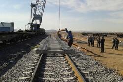 عملیات اجرایی راه آهن اردبیل طبق برنامه پیش میرود