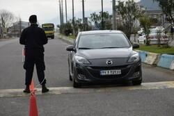 اعمال محدودیت ترافیکی و کنترل ترددها در محور آستارا - تالش