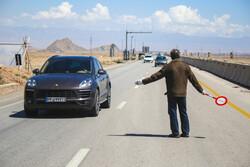 طرح فاصله گذاری اجتماعی در ورودی یزد