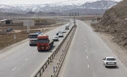 تردد وسایل نقلیه در محورهای استان مرکزی ۶۴ درصد کاهش داشت