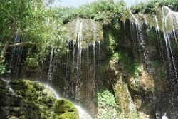 Doğu Azerbaycan'daki şelalelerden görüntüler
