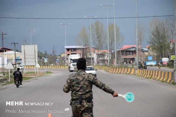 مبادی ورودی و خروجی شهرهای آذربایجانغربی در روز طبیعت بسته است